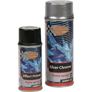Silver chrome sæt 400+150 ml.