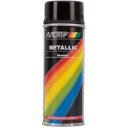 Spraymaling sort metallic 400 ml