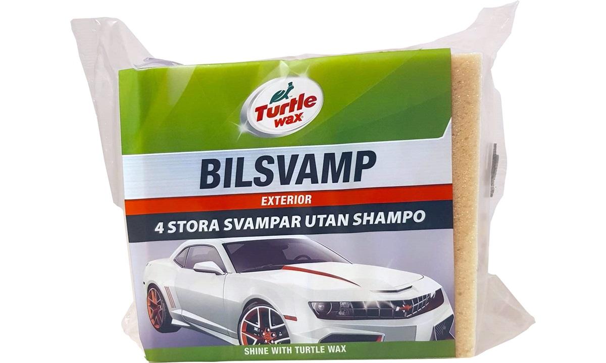 Bilsvamp 4 stk. uden shampoo Turtle