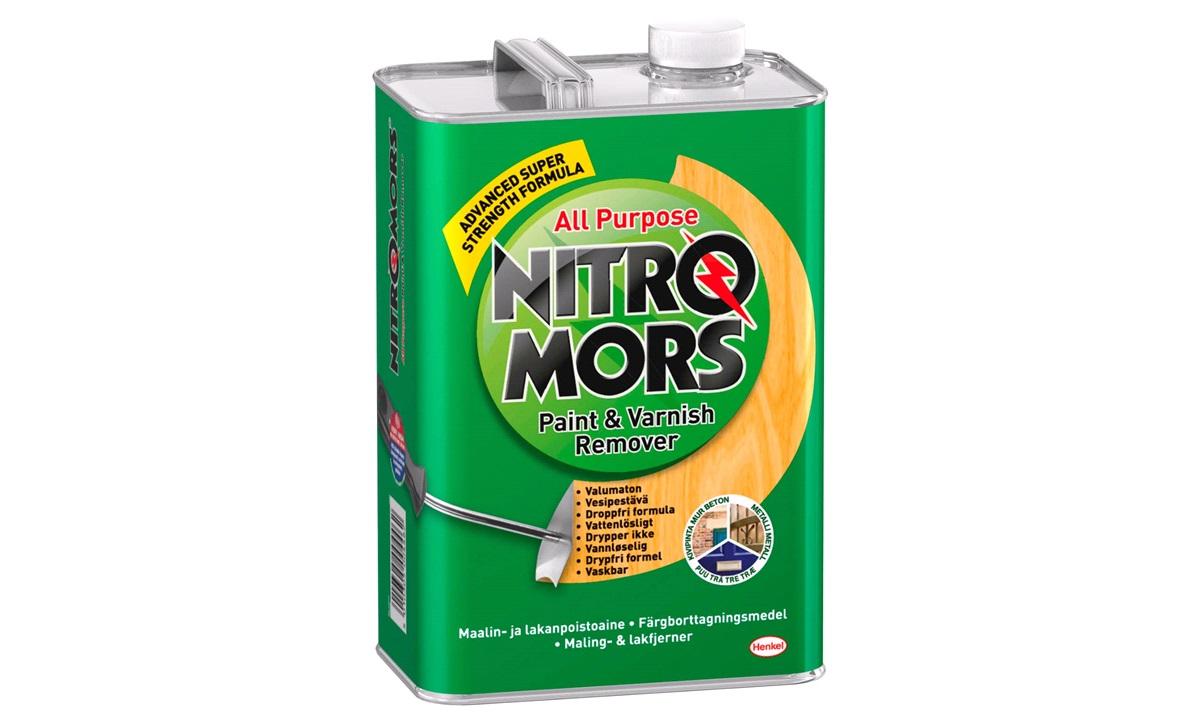 Nitromors farve- og lakfjerner 4 ltr.