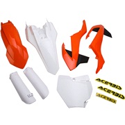 Plast/skjoldsæt, Acerbis, 65SX 16-18