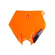 Fornummerplade orange, 125SX 03-06