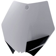 Fornummerplade hvid Acerbis, 125SX 07-12