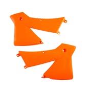 Kølerskjolde orange Acerbis, 125SX 01-04