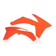 Kølerskjolde orange Acerbis, 125SX 11-12