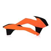 Kølerskjolde orange Acerbis, 125SX 13-15