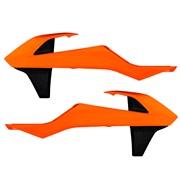 Kølerskjolde orange Acerbis, 125SX 16<