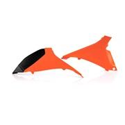 Filterdæksel orange Acerbis, 125SX 2012