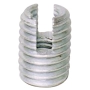 Gevindbøsning, stål 6/9 mm