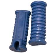 Gummisæt for fodhvilerkonsol, blå