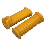 Gummisæt for fodhvilerkonsol, gul