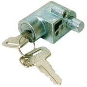 Styrlås komplet med nøgler