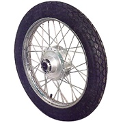 Baghjul komplet MED dæk & slange