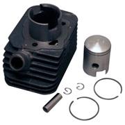 Cylinder m/stempel(12mm krydspind)