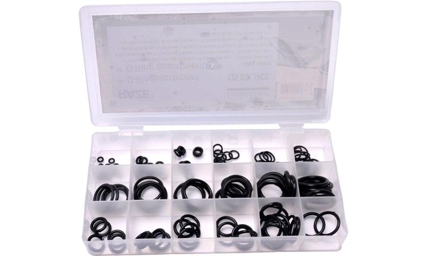 o ring sortiment 125 stk sortiments sker. Black Bedroom Furniture Sets. Home Design Ideas