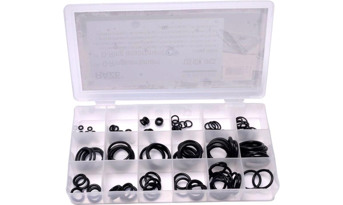 O-ring sortiment 125 stk.