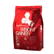 Weight gainer jordbær 1500 g LinusPro
