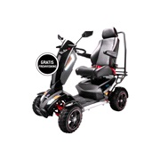El-scooter S12X cross 900 watt 75AH