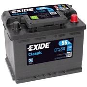 Bilbatteri 55559 - Exide EC550 - 55 Ah
