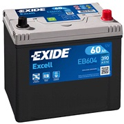 Batteri - EB604 - EXCELL - (Exide)