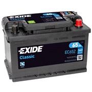 Bilbatteri 56530 - Exide EC652 - 65 Ah