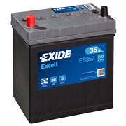 Batteri - EB357 - EXCELL - (Exide)
