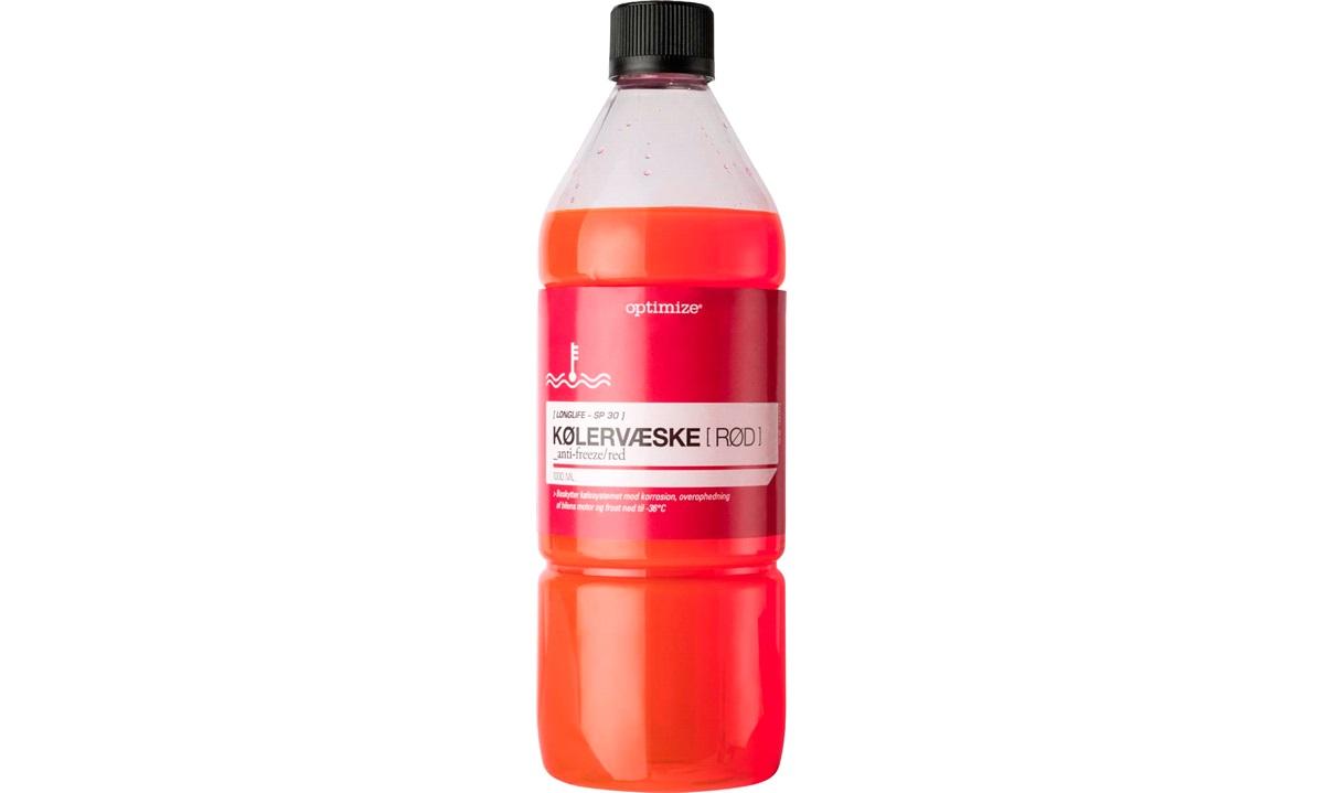 Kølervæske, rød, 1 liter