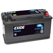 Bilbatteri 58542 - Exide EC900 - 90 Ah
