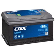 Batteri - EB802 - EXCELL - (Exide)