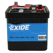 Bilbatteri 06612 - 6V Veteran - 66 Ah