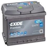 Bilbatteri - Exide Premium EA472 - 47Ah