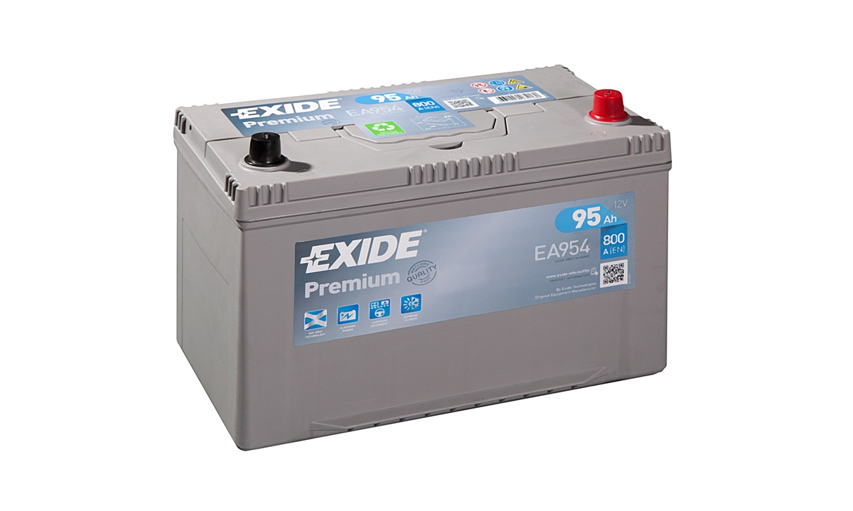 Batteri - EA954 - PREMIUM - (Exide)