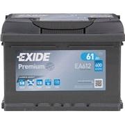Batteri EA612 - Exide EA612 - 61 Ah