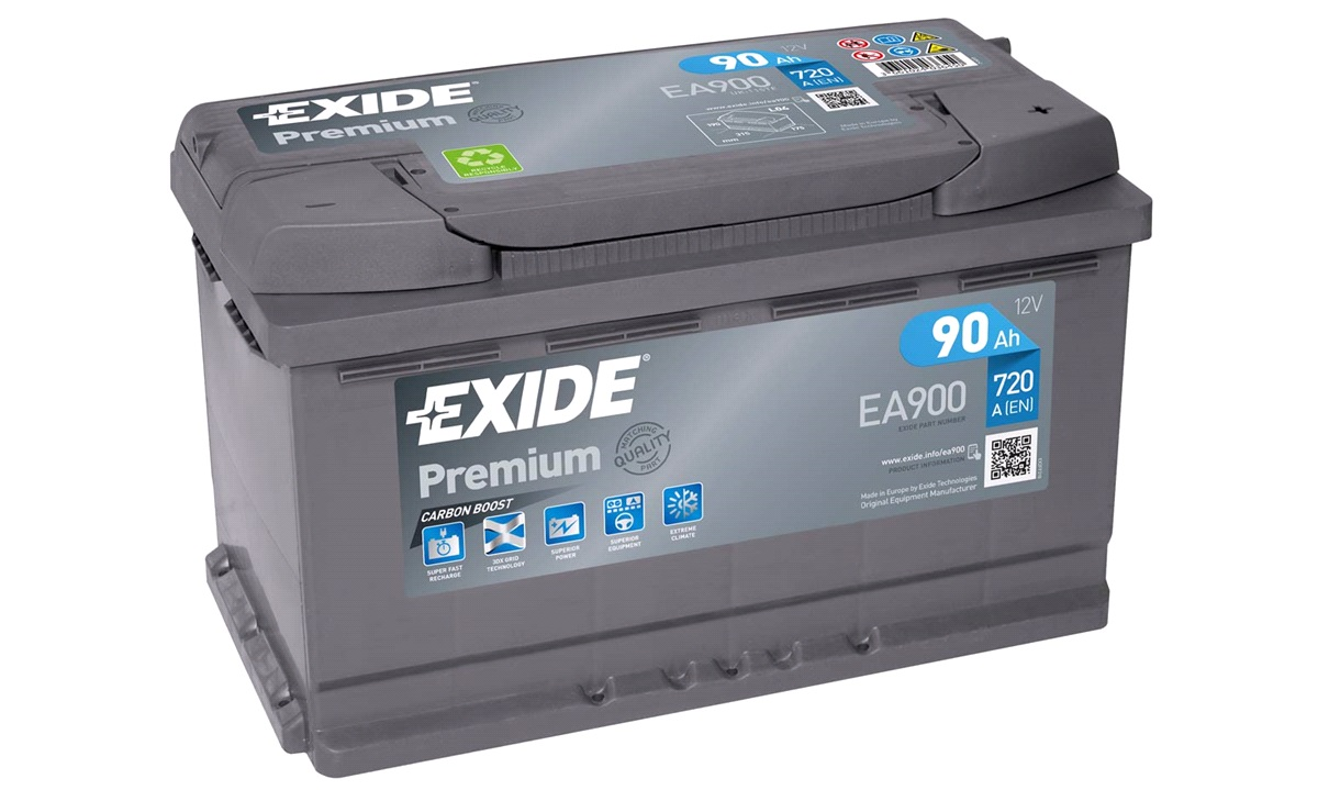 Batteri - EA900 - PREMIUM - (Exide)