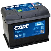 Batteri - EB621 - EXCELL - (Exide)