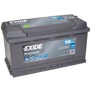 Bilbatteri - Exide Premium EA1000- 100Ah