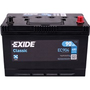 Batteri - EC904 - CLASSIC - (Exide)