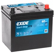 Batteri - EL604 - Start-Stop EFB - (Exid