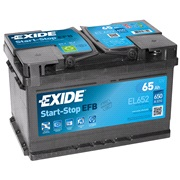 Batteri - EL652 - Start-Stop EFB - (Exid