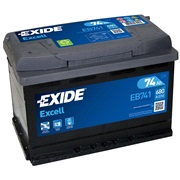 Batteri - EB741 - EXCELL - (Exide)