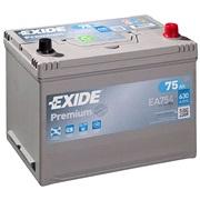 Bilbatteri - Exide Premium EA754 - 75 Ah