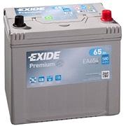 Bilbatteri - Exide Premium EA654 - 65 Ah