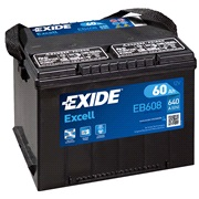 Batteri - EB608 - EXCELL - (Exide)