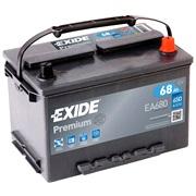 Bilbatteri - Exide Premuim EA680 - 68 Ah