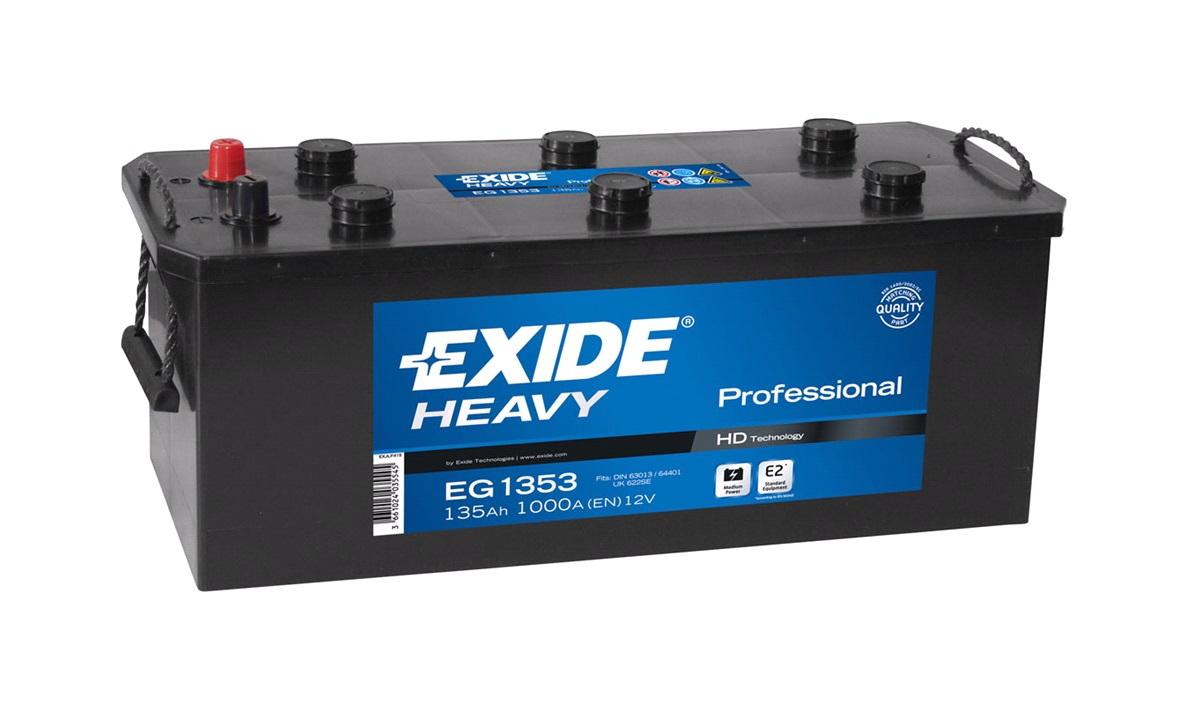 Batteri - EG1353 - StartPRO - (Exide)