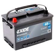 Bilbatteri - Exide Premium EA681 - 68 Ah