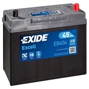 Batteri - EB456 - EXCELL - (Exide)