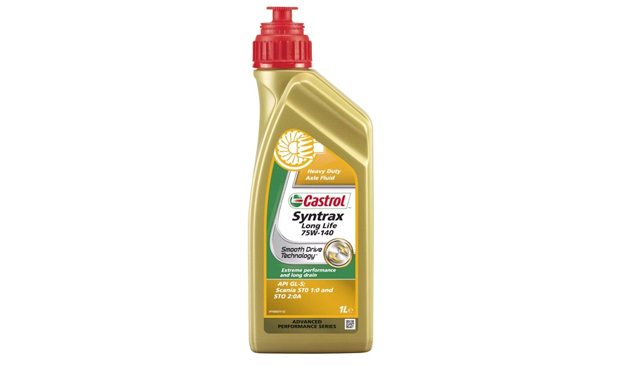 castrol syntrax long life 75w 140 1 l gearolie hydraulikolie og servoolie. Black Bedroom Furniture Sets. Home Design Ideas