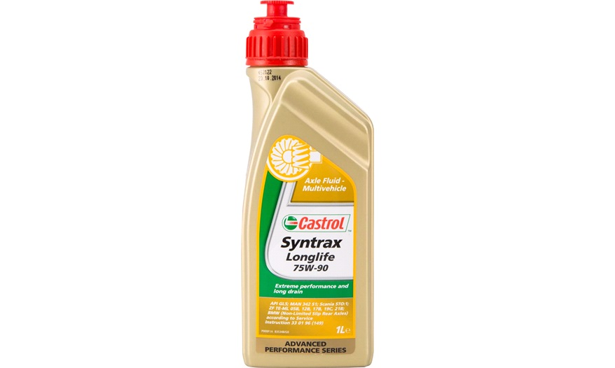 castrol syntrax long life 75w 90 1 l gearolie hydraulikolie og servoolie. Black Bedroom Furniture Sets. Home Design Ideas