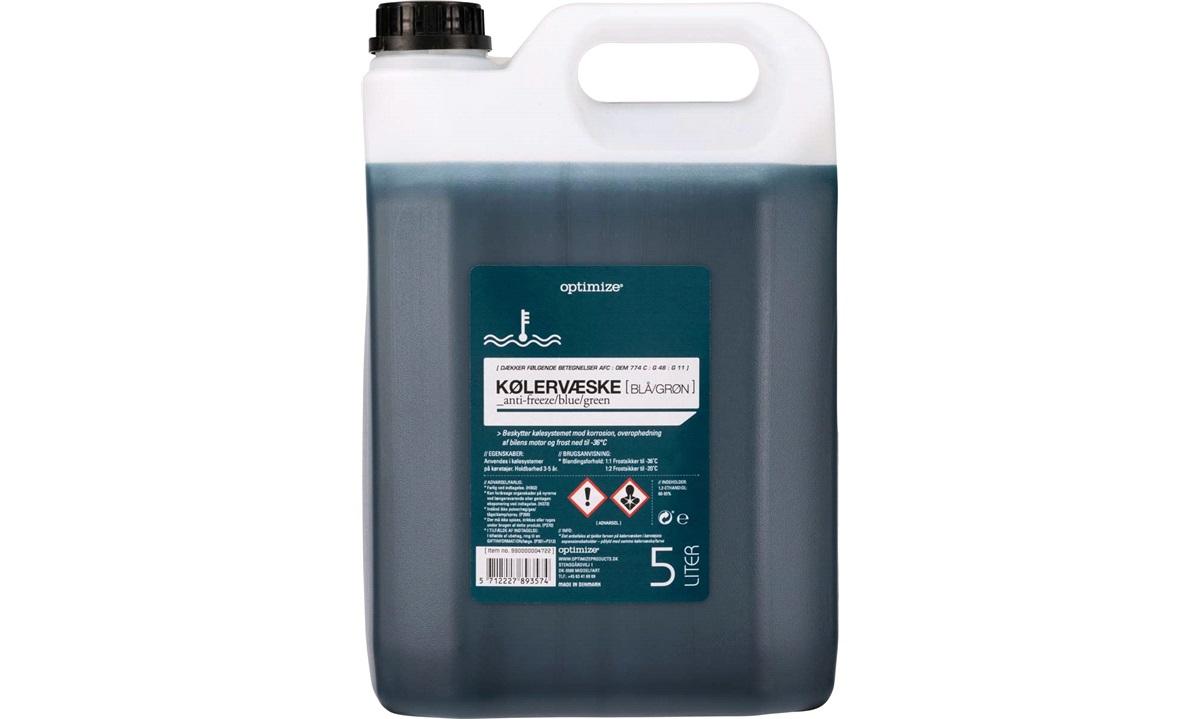 Optimize kølervæske Blå/Grøn 5 liters